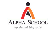 logo he thong giao duc alpha school